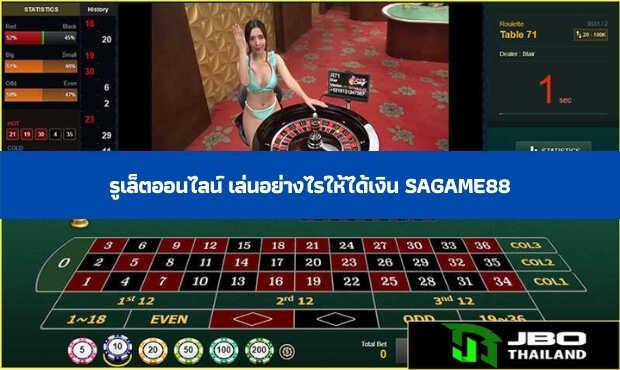 Read more about the article รูเล็ตออนไลน์ เล่นอย่างไรให้ได้เงิน sagame88